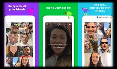 houseparty video calling app