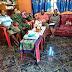 Babinsa Komsos Bersama Kepala Kelurahan Membahas Pembagian Sembako Yang Terkana Dampak Covid-19