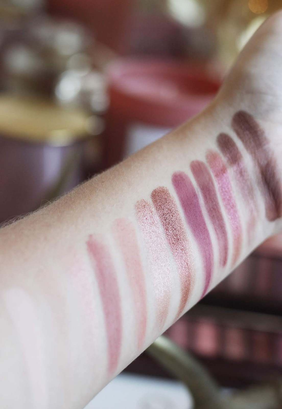 Urban Decay Naked Cherry Palette Review Swatches