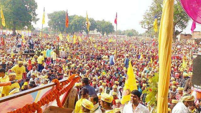 Sukhpura%2Brailee%2Bsbsp ओमप्रकाश राजभर की रैली में जुटा लाखों का जनसैलाब ।। राजभर इन इंडिया