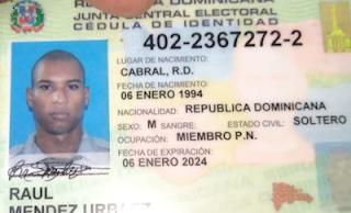 [Imagen fuerte +18 años] Matan a machetazos a un raso de la Policía en Cabral