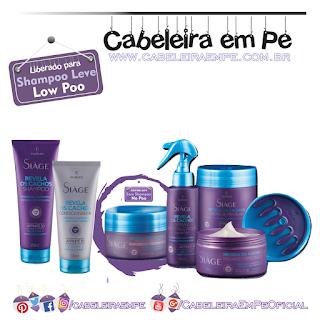 Produtos liberados da Linha Revela Cachos - Siàge (Eudora) - Low Poo (Máscara de Colpageno liberada para No Poo)