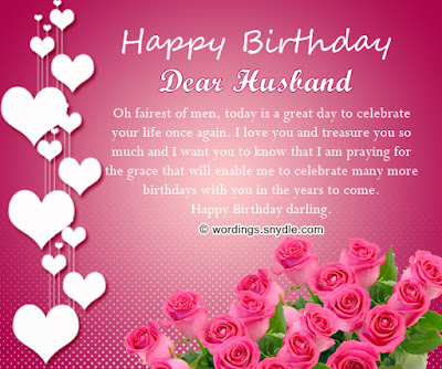 Happy Birthday wishes quotes for husband: happy birthday dear husband