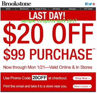 free Brookstone coupons for april 2017