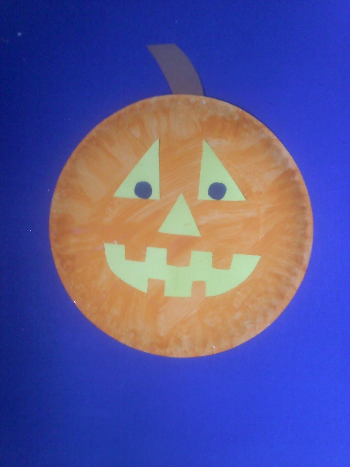 Crafts For Preschoolers Paper Plate Pumpkin And Jack O