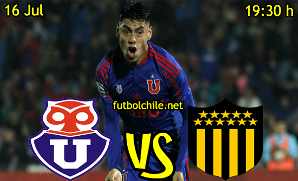 VER STREAM YOUTUBE RESULTADO EN VIVO, ONLINE:  Universidad de Chile vs Peñarol