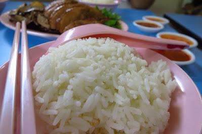 Ah Xiao Teochew Braised Duck (亞笑潮洲卤鸭), rice