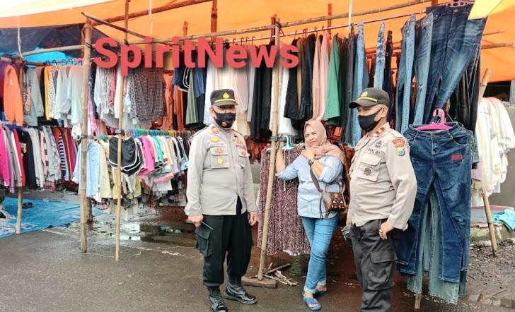 AKP Chamiseng, Pimpin Operasi Yustisi di Pasar Pattallassang