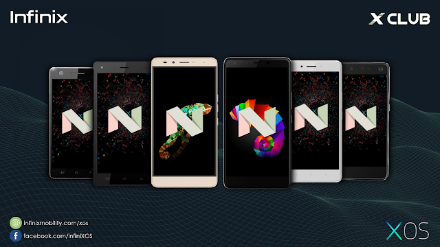 All Infinix Android 7 Nougat Stock ROMs Collection