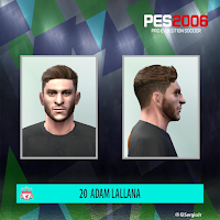PES 6 Faces Adam Lallana by El SergioJr