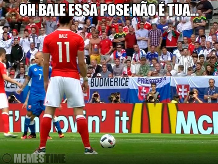 Meme Gareth Bale – Oh Bale essa Pose tem Direitos de Autor Bale tão Ronaldo quanto o Cristiano?