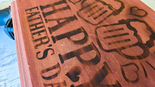 wood signs, silhouette stencils, oramask, heat gun, wood burning