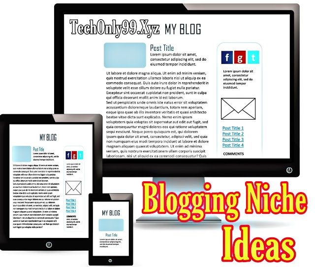 Top 5 Blogging Niche Ideas For Indian Bloggers 2020