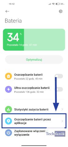 Aplikacje a oszczędzanie baterii