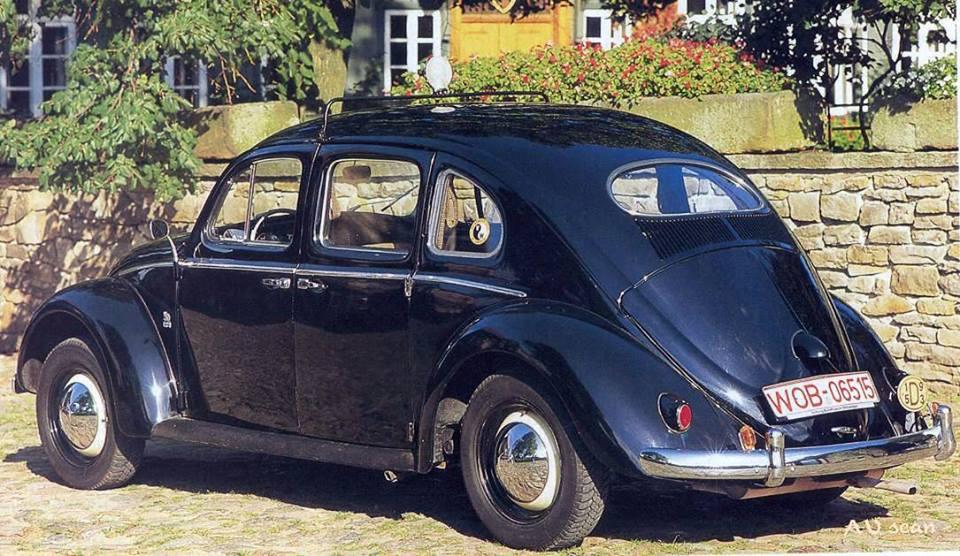 Just A Car Guy: Rometsch VW Beetle 4-door Taxi