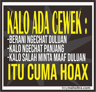 Itu Cuman Hoax