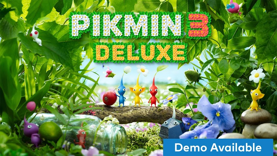 Pikmin 3 Deluxe Review demo available