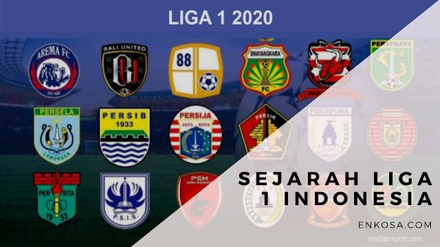 Sejarah Liga 1 Indonesia Yang Jarang diketahui Pecinta Bola