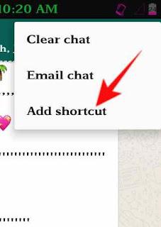 Whatsapp chat shortcut kese use kare 4