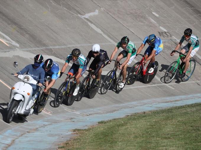 Pályakerékpáros ob - Megdőlt a pályacsúcs a női sprint csapatversenyben