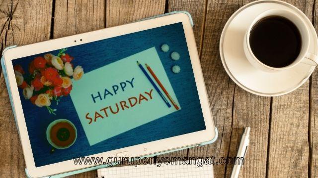 Pantun Semangat Hari Sabtu Lucu, Menghibur dan Penuh Motivasi untuk Diri
