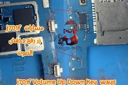 j701f Volume Up Down Key  ways