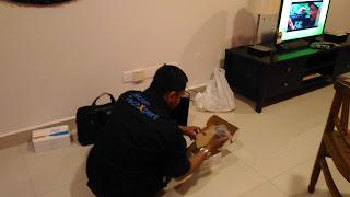 Warih-Homestay-Kontraktor-Celcom-Buat-Persediaan-Awal