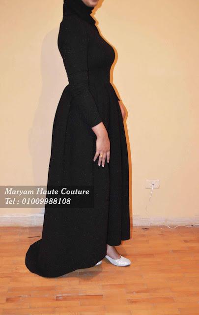 فستان سهرة محجبات   Evening Hijab Dress