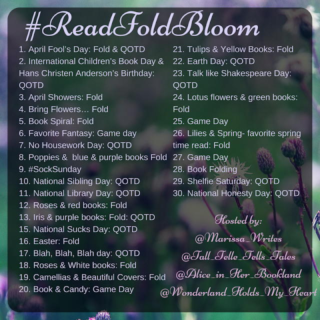 Read Fold Bloom a Photo Challenge for Instagram for April 2017