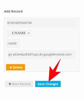 Blog me domain add kaise kare 7