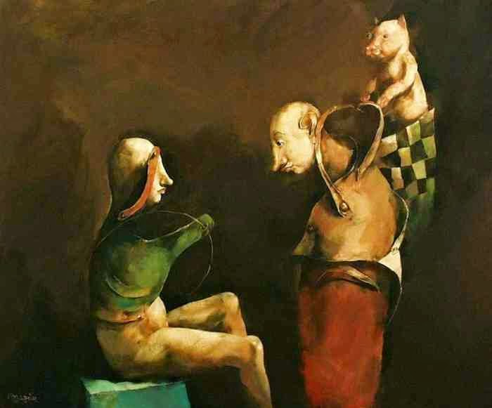 Абсурд и гротеск. Georges Mazilu