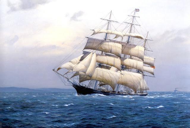 Tranh thuyền buồm-TBXG 2