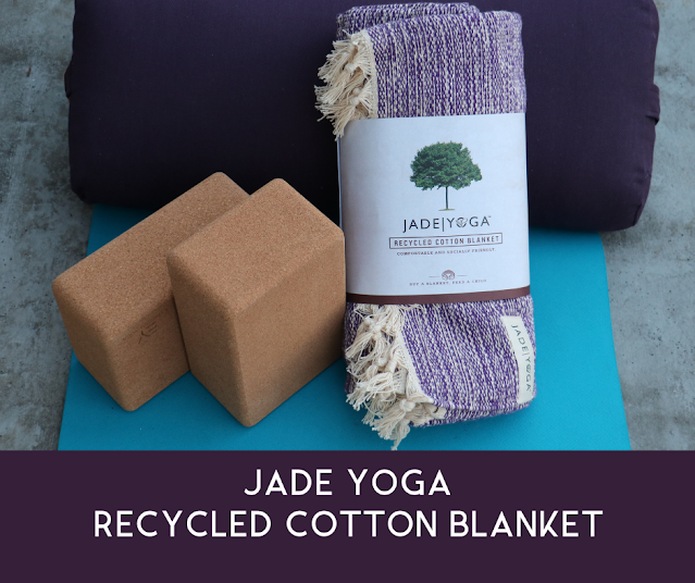 Jade Yoga recycled cotton blanket review