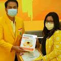Kader SOKSI, Aisyah Claresta Jadi Peserta Terbaik di Program Golkar Institute