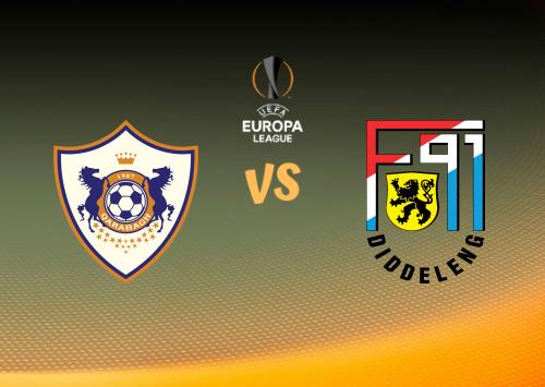 Qarabağ vs F91 Dudelange  Resumen