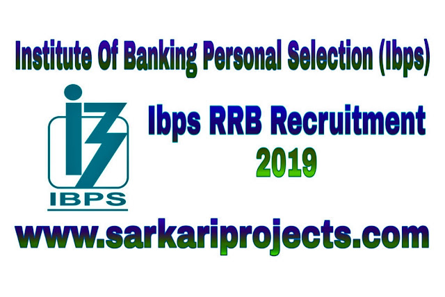 Ibps Rrb Recruitment 2019-Apply Online 12 Thousand Ibps Rrb Vacancy Post