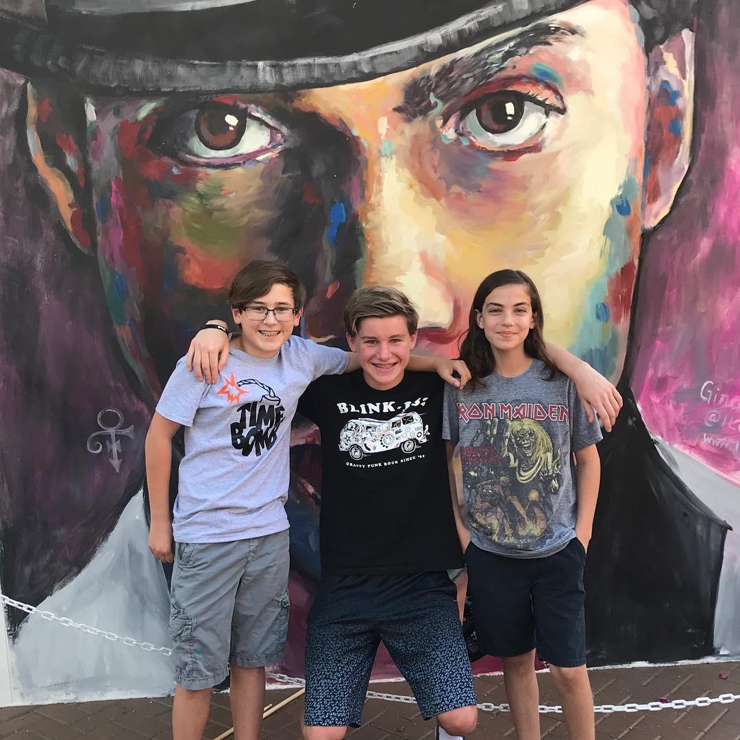 Carvor, Logan and Zach