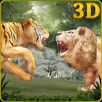 Wild Big Cats Fighting Challenge 2: Lion vs Tigers Apk Download