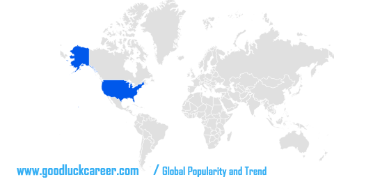 goodluckcareer.com / Global Popularity and Trend