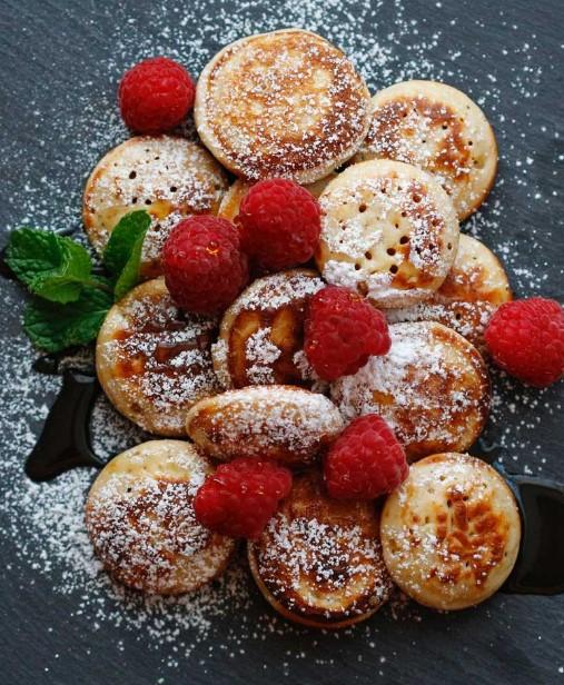 Poffertjes - Mini Dutch Pancakes