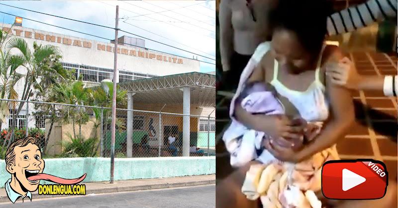Régimen de Maduro no atendió el parto a una mujer embarazada por ser negra