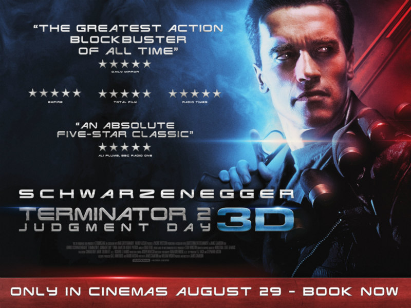 TERMINATOR 2: JUDGMENT DAY 3D poster