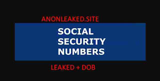 Update Leaked Personal Information SSN and DOB With Fullz Name