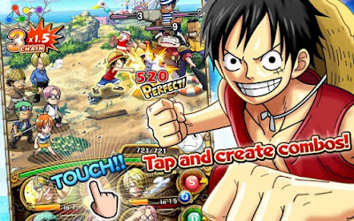 One Piece Treasure Cruise MOD Unlimited Money v6.0.1 Apk Android Terbaru