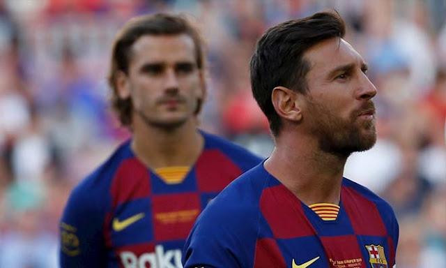"""Barcelona thua Real: Griezmann bị trợ lý HLV """"mắng"""" té tát thế nào? 2"""