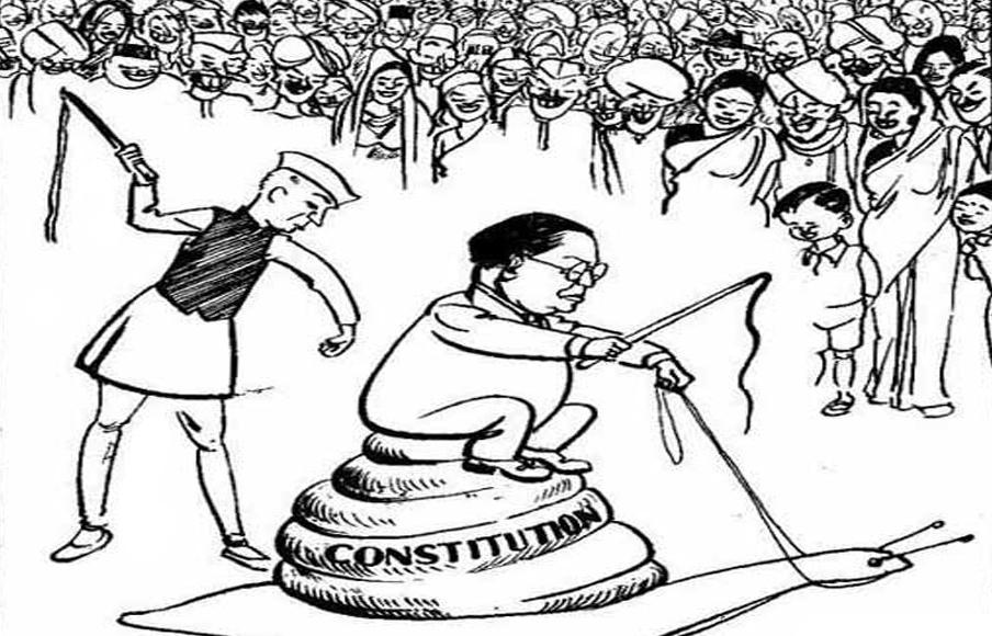 ಅಂತರಗಂಗೆ: ಡಾ|| ಅಂಬೇಡ್ಕರ್ ಮತ್ತು ವ್ಯಂಗ್ಯಚಿತ್ರ