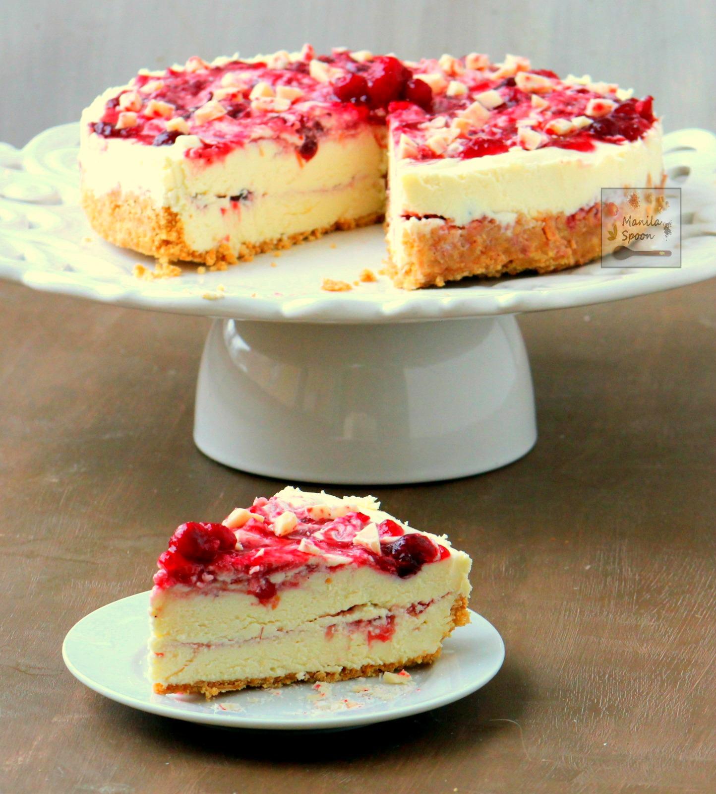 21 Luscious NO BAKE Holiday Cheesecakes