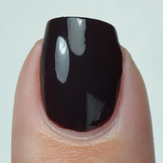 umber brown creme nail polish