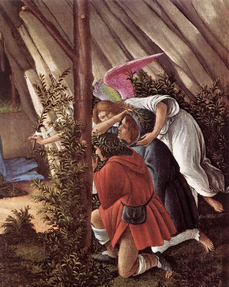 Sandro Botticelli Works Rome