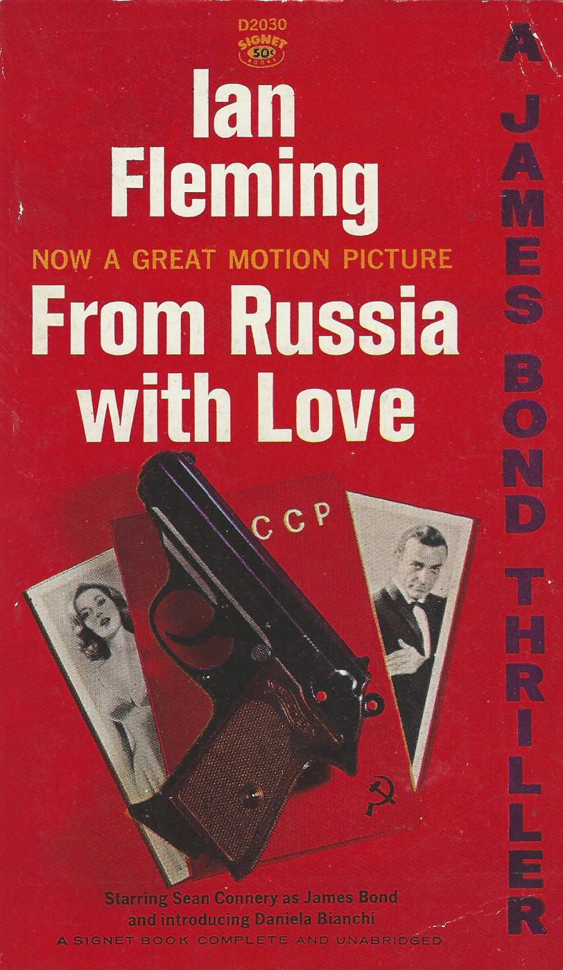 From Russia with Love by Ian Fleming (1957)